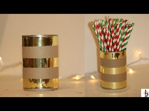 HOW TO UPCYCLE CANS TUTORIAL