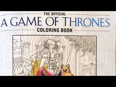 Coloring In Game Of Thrones