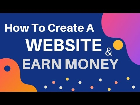 How To Make a Website and Earn Money Online