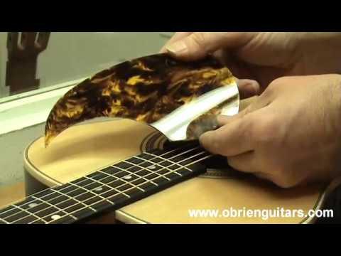 Pickguards for Acoustic Guitars - Luthier Tips du Jour Episode 104