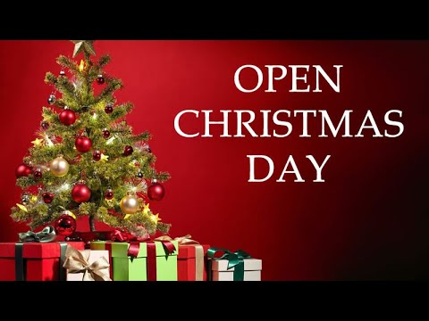 Video :: whats open on Christmas eve