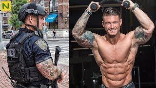 ニューヨークの警察官の筋肉が超カッコいい…!!【筋トレ】
