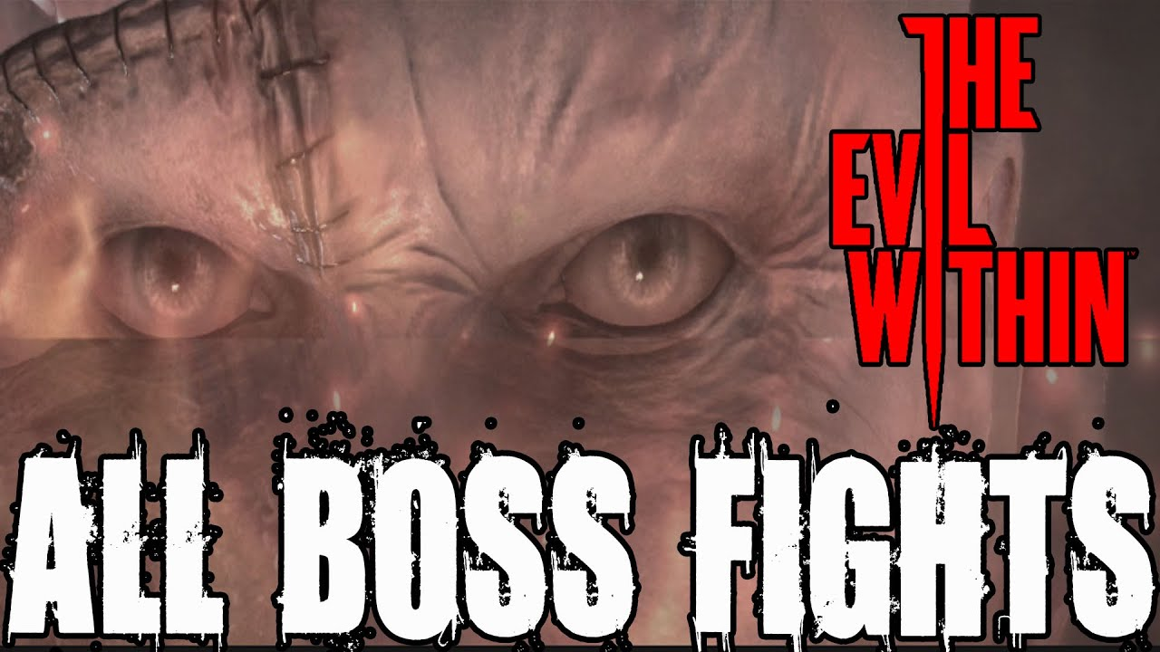 the evil in all boss fights and ending