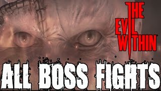The Evil Within All Boss Fights and Ending