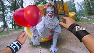 Cover images PARKOUR vs CLOWN! - Pennywise The Dancing Clown | POV