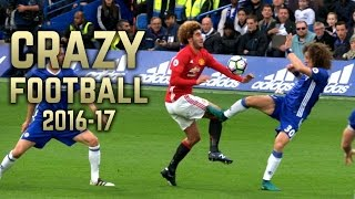 Crazy Football 2016-17 | Brutal Fouls & Tackles | Hd