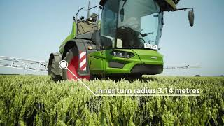 Fendt Rogator 600 - The self-propelled machine for professionals.