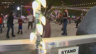 Texas Outdoors: Ice skating in Travis Park