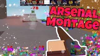 MONTAGE d'Arsenal de ROBLOX (fr) Faits saillants mobiles