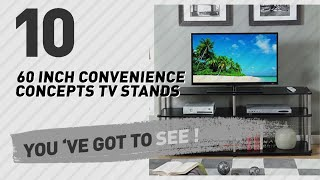 60 Inch Convenience Concepts TV Stands // New & Popular 2017