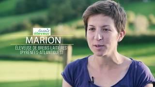 Marion, éleveuse de brebis laitières dans les Pyrénées-Atlantiques