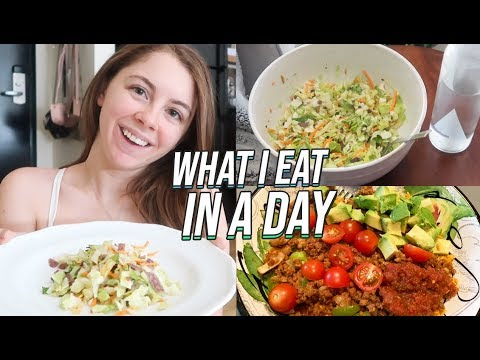 WHAT I EAT IN A DAY! Vegetarian Meal Ideas!
