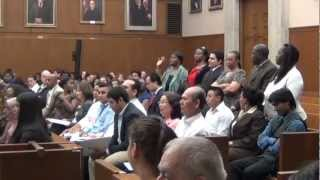 Citizens take the Oath of Allegiance in Washington D.C.