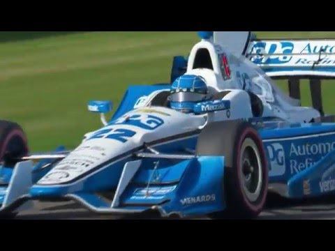 2016 Honda Indy Grand Prix of Alabama Race Highlights
