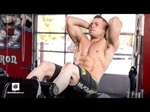Heavy Duty Abs Workout | Hunter Delfa