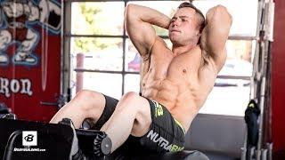 Hunter Delfa's Sick Ab Workout