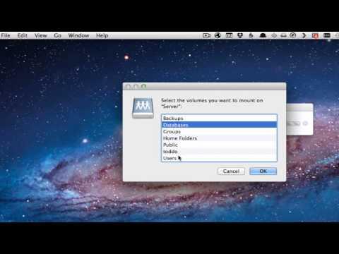 Mac OS 10.7 Lion Server Part 8: Connect & Auto Mount AFP