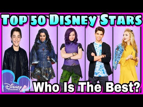 Top 50 Famous Disney Stars | Disney Channel Stars Battle Musically 2017