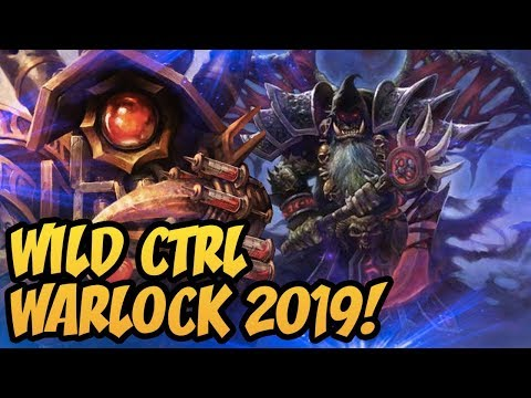 Wild CTRL Warlock 2019! | Rise of Shadows | Hearthstone