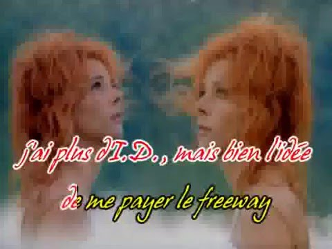 Mylene Farmer California karaoke
