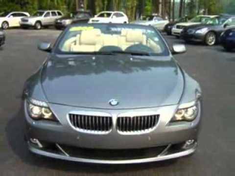 2008 Bmw 6 Series 2dr Conv 650i Convertible Bluffton Sc