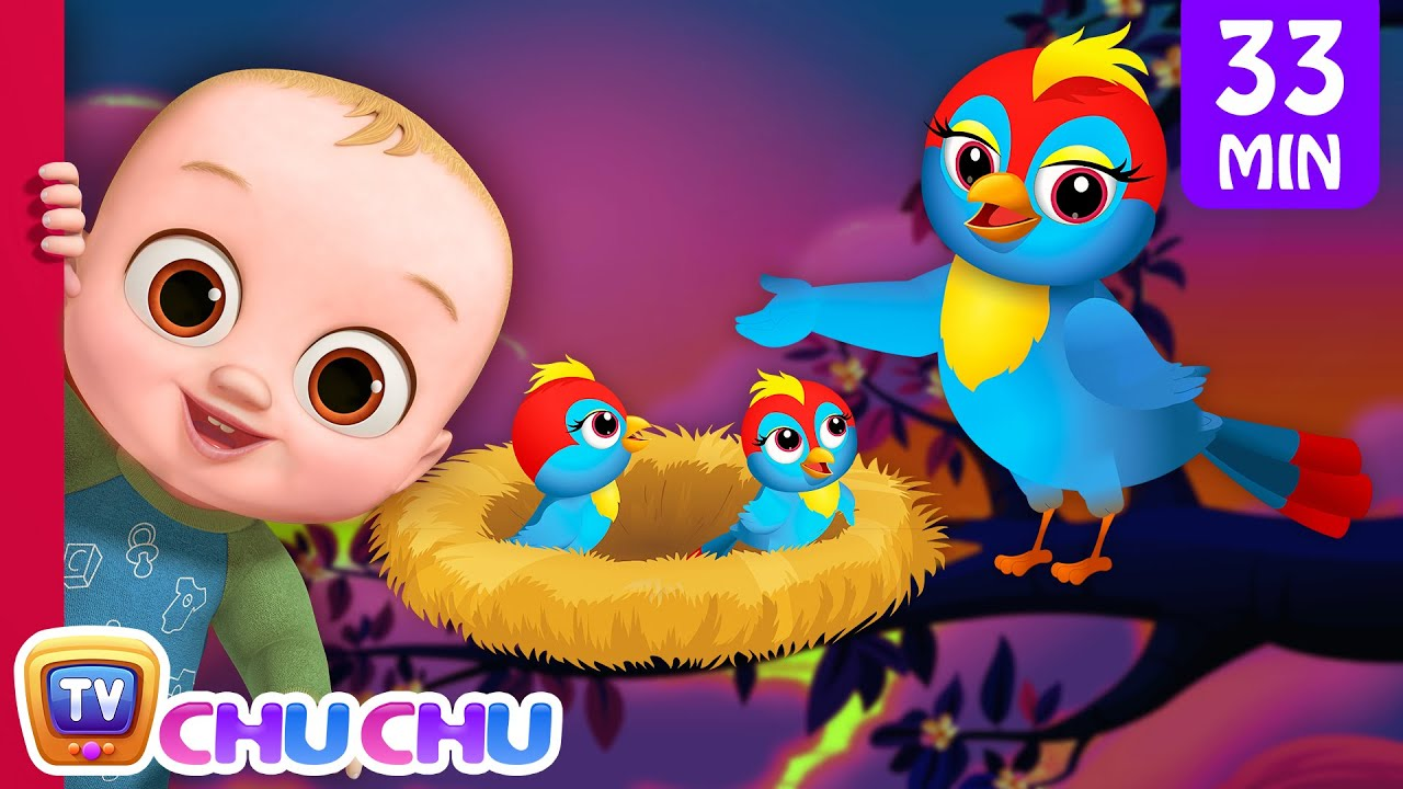 Animal Homes Song + More Nursery Rhymes & Kids Songs - ChuChu TV