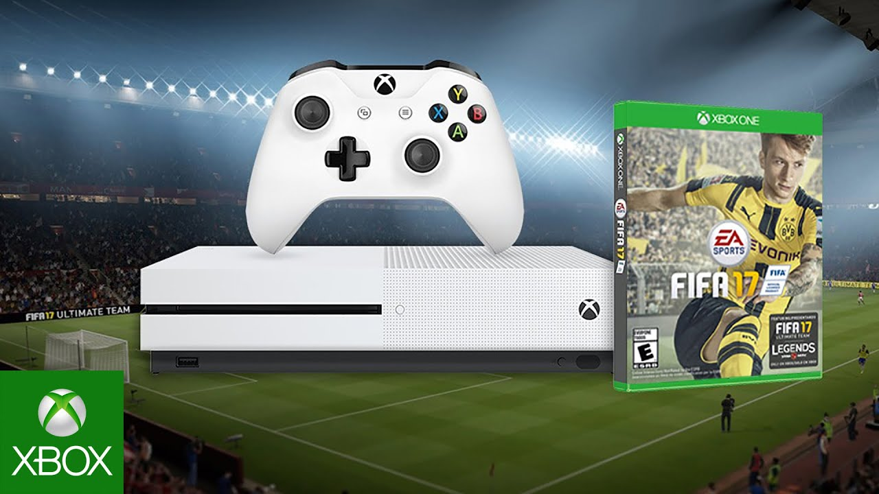 6 reasons fifa 17 is best on xbox one s fifa 17 bundle. Black Bedroom Furniture Sets. Home Design Ideas