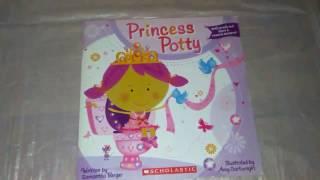 Princess Potty read along story book learn to potty girls potty Scholastic Books