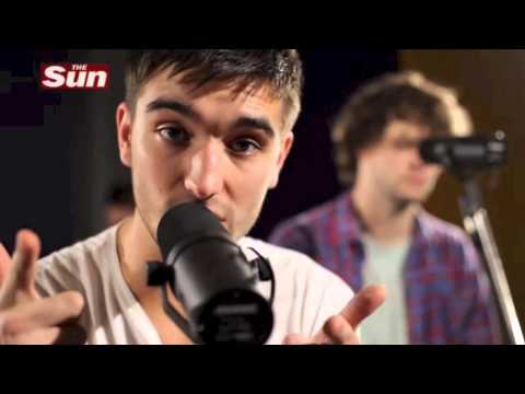 The Wanted - Glad You Came - Biz Sessions