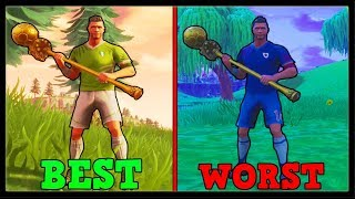 RANKING ALL 32 SOCCER SKINS FROM WORST TO BEST! | Fortnite Battle Royale!