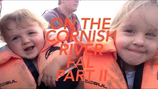 On the Cornish River Fal - Part II (with two extra passengers!)