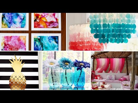 26 Best DIY Summer Room Decor Colorful and Easy Design Ideas