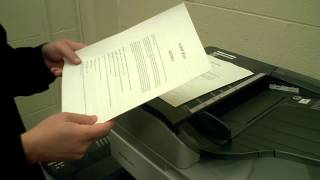 Double Sided Copies