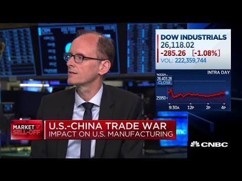 Deutsche Bank chief economist on US manufacturing data, China trade war