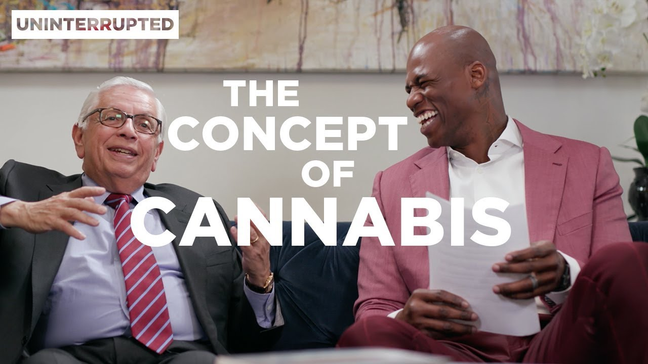 Al Harrington And David Stern Talk Medical Marijuana