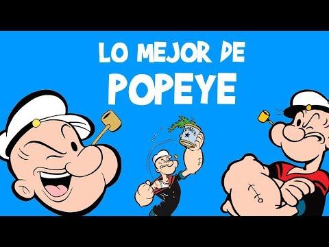 LO MEJOR de POPEYE EL MARINO: Español Latino | Olivia, Blutus (Brutus): Dibujos Animados Caricaturas