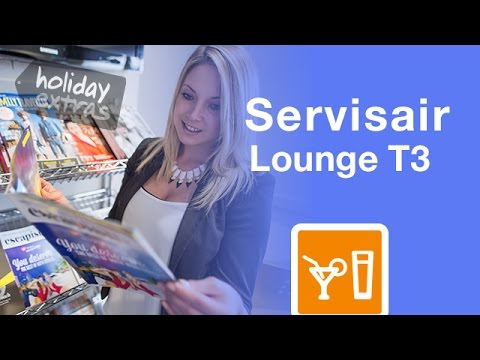 Heathrow Servisair T3 Lounge Review | Holiday Extras