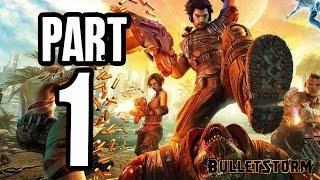► Bulletstorm | #1 | Kopanec do ksichtu! | CZ Lets Play / Gameplay [1080p] [PC]