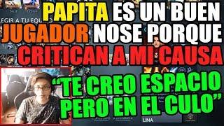 JEIMARI DEFIENDE A PAPITA DE LOS INSULTOS | GANA EN 20 MINUTOS CON SU LINA | DOTA 2