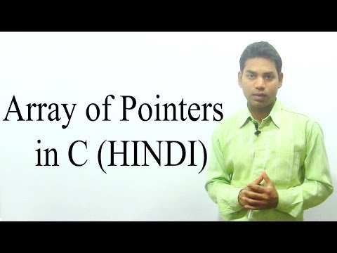 Array of Pointers in C (HINDI/URDU)