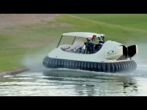 Bubba Watson's hovercraft is for real