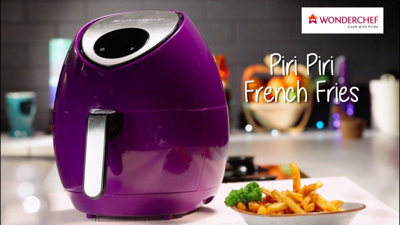 Piri Piri French Fries Wonderchef Caruso Air Fryer Youtube