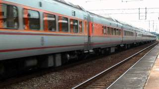 [HD] The Taiwan TRA up Tzu-Chiang Limited Express Train E1000 train no. 1026 pass the Sanyi Station