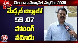 Medchal Collector MV Reddy Face To Face Over Polling Percentage  Telugu News