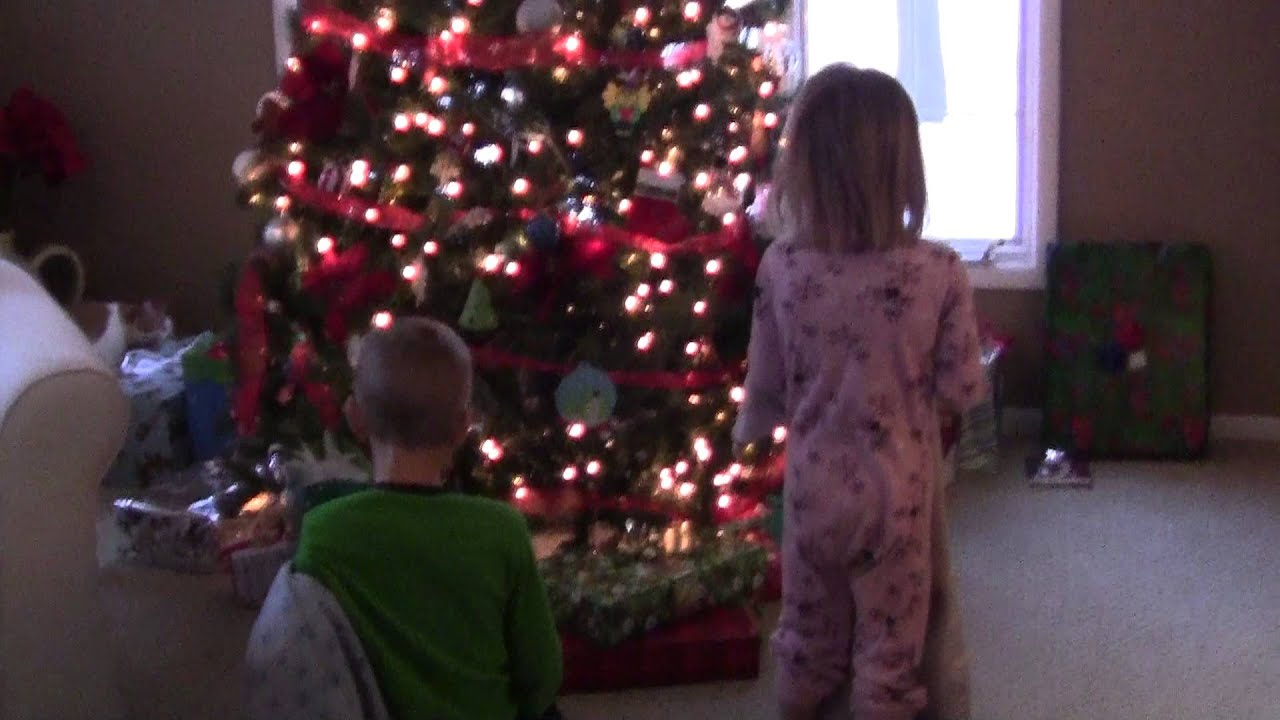 Kids waking up on Christmas morning - YouTube