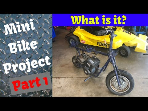 Mini Bike Project Part 1 - What is it? Fox, Rudd, Sears, Speedway, MTD, Wards? Who knows?