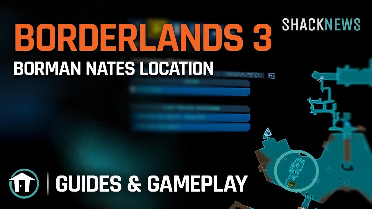 Borman Nates Location Borderlands 3 Youtube Borman nates is a rare spawn enemy. borman nates location borderlands 3