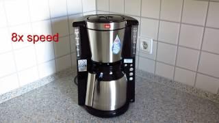 Melitta 101116 Kaffeefiltermaschine Testbericht – Look Therm Timer