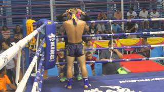 Craig Sumalee Boxing Gym VS Jesse Phuket Top Team- Round 1 KO! Queen's Birthday, Bangla Stadium.