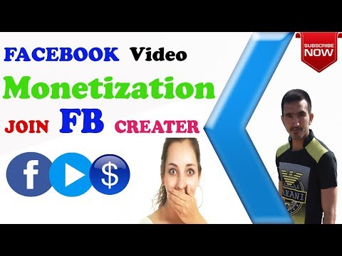 How To Monetize your Facebook Videos ? Join now Facebook for Creator